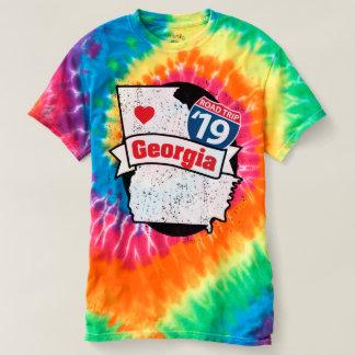 Camiseta de Roadtrip Georgia '19 (teñido anudado)