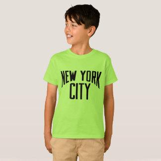 CAMISETA de S de los NIÑOS UNISEX de New York City