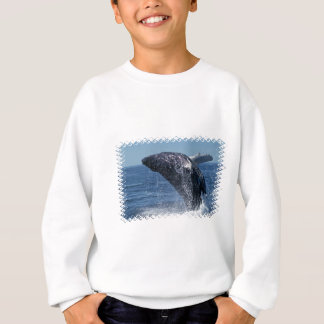 Camiseta de salto de la juventud de la ballena