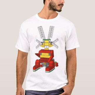 Camiseta de salto del conejito