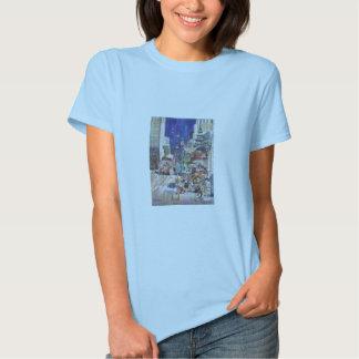 Camiseta de San Francisco que pinta Chinatown