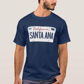 Camiseta de Santa Ana California de la placa