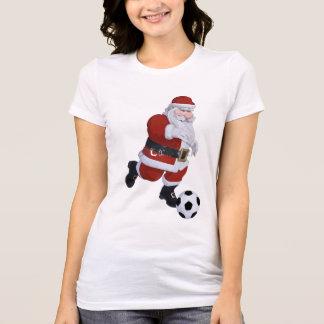 Camiseta de Santa del fútbol