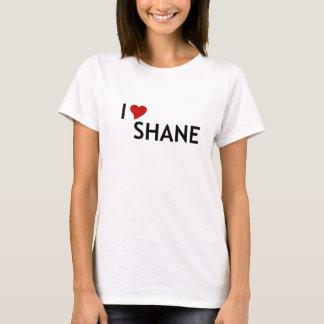 Camiseta de Shane del corazón I