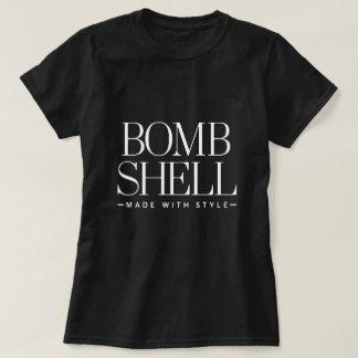 Camiseta de Shell de la bomba