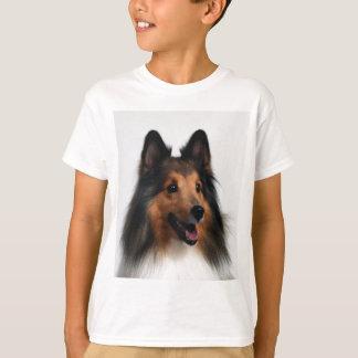Camiseta de Sheltie para los niños