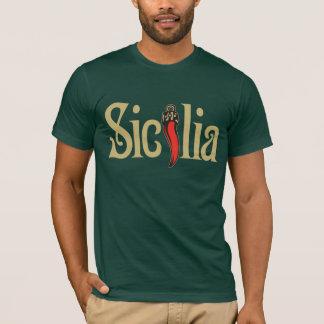 Camiseta de Sicilia, ropa oscura