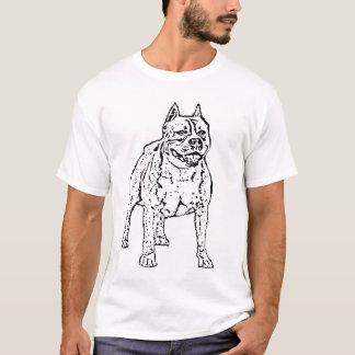 Camiseta de Stoffordshire Terrier del americano