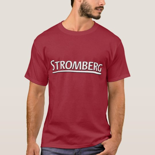 Camiseta de Stromberg