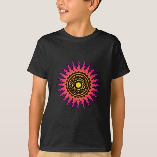 Camiseta de Sun 1 de la mandala