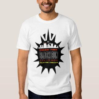 Camiseta de Sun del negro de la fuerza de Chicago