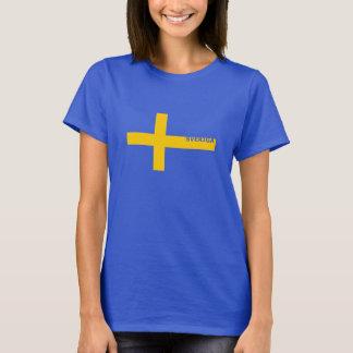 Camiseta de Sverige de las mujeres