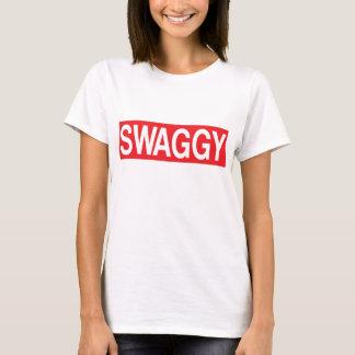 Camiseta de Swaggy, camiseta de la declaración,