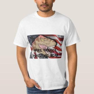 ¡CAMISETA DE T-REX!  ¡Haga América prehistórica Camiseta