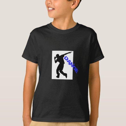 Camiseta de Tagless Comfortsoft de la danza de los
