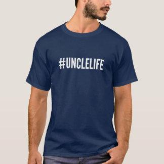Camiseta de tío Life - #UNCLELIFE de Hashtag