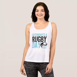 Camiseta De Tirantes Al día del rugbi de sábado