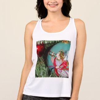 Camiseta De Tirantes Ángel del navidad - arte del navidad -