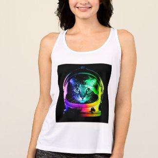 Camiseta De Tirantes Astronauta del gato - gato del espacio - gatos