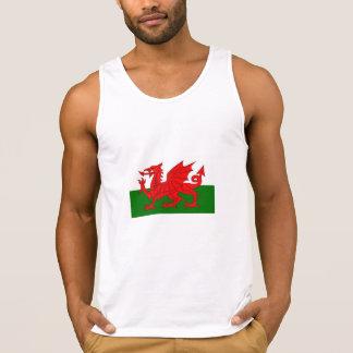 Camiseta De Tirantes Bandera Galés