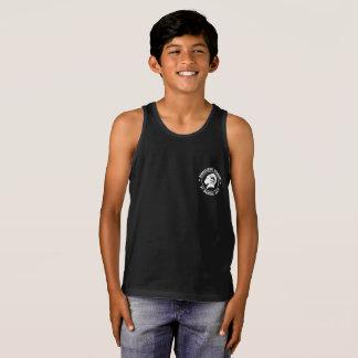 Camiseta De Tirantes Bella de los niños+Camisetas sin mangas negras
