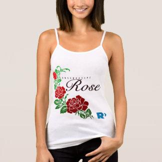 Camiseta De Tirantes Blanco color de rosa conservador