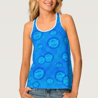 Camiseta De Tirantes Burbujas de Ichthus