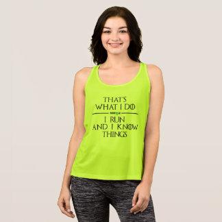 Camiseta De Tirantes Casa del tanque del funcionamiento de las mujeres