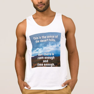 Camiseta De Tirantes Colinas del desierto
