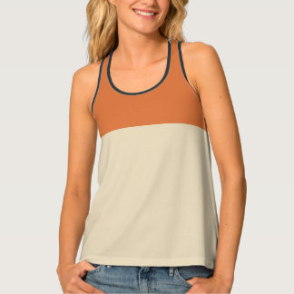 Camiseta De Tirantes Colourblocked