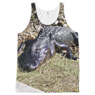 Camiseta De Tirantes Con Estampado Integral Alligatior en los marismas