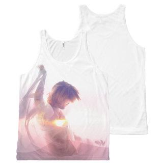 Camiseta De Tirantes Con Estampado Integral Aurora Sun - el tanque unisex