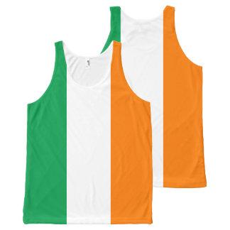 Camiseta De Tirantes Con Estampado Integral Bandera de Irlanda