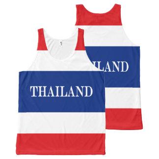 Camiseta De Tirantes Con Estampado Integral Bandera de Tailandia