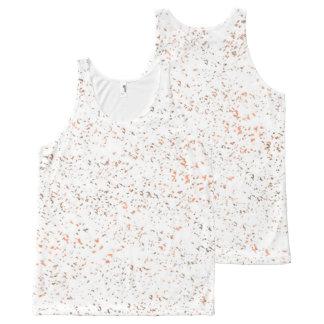 Camiseta De Tirantes Con Estampado Integral Especia de la vainilla