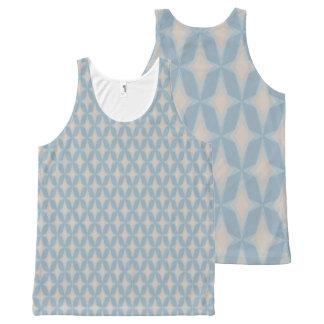 Camiseta De Tirantes Con Estampado Integral Estrellas retras apacibles del punto de Bonnie