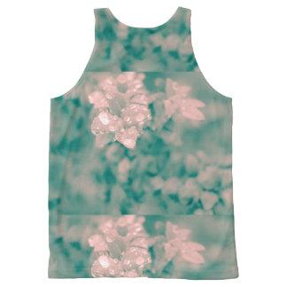 Camiseta De Tirantes Con Estampado Integral Floral surrealista