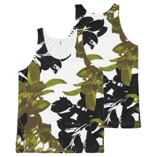 Camiseta De Tirantes Con Estampado Integral Impresión DULCE de LIFE-Naturaleza