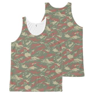 Camiseta De Tirantes Con Estampado Integral los militares camuflan
