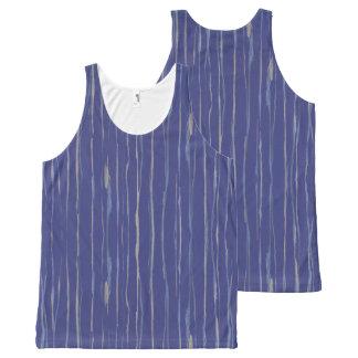 Camiseta De Tirantes Con Estampado Integral Niebla de la playa