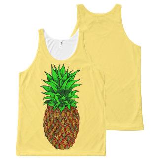 Camiseta De Tirantes Con Estampado Integral Piña