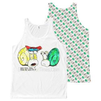 Camiseta De Tirantes Con Estampado Integral preguntas cargadas del #jWe el | del #Snail el |
