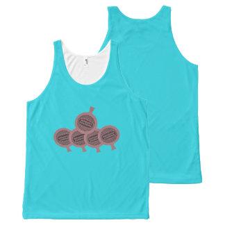 Camiseta De Tirantes Con Estampado Integral pushin del amortiguador del whoopie