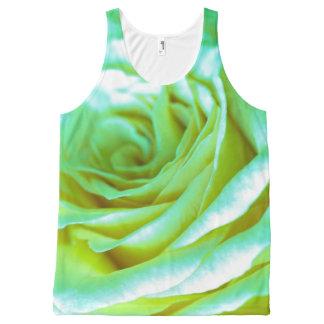 Camiseta De Tirantes Con Estampado Integral Regalos el | adorables color de rosa psicodélicos