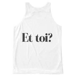 Camiseta De Tirantes Con Estampado Integral ¿Soy una copia - y usted?
