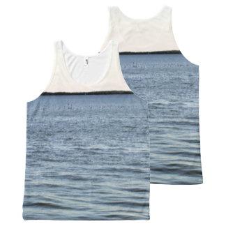 Camiseta De Tirantes Con Estampado Integral The Edge de los marismas