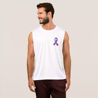 Camiseta De Tirantes Conciencia púrpura de la cinta