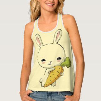 Camiseta De Tirantes Conejo de conejito lindo
