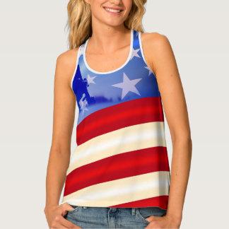 Camiseta De Tirantes Cuarto patriótico del día de veteranos de julio