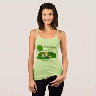 Camiseta De Tirantes Cuida la naturaleza
